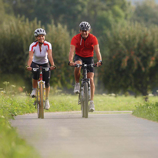 Fahrradfahren in Naturns