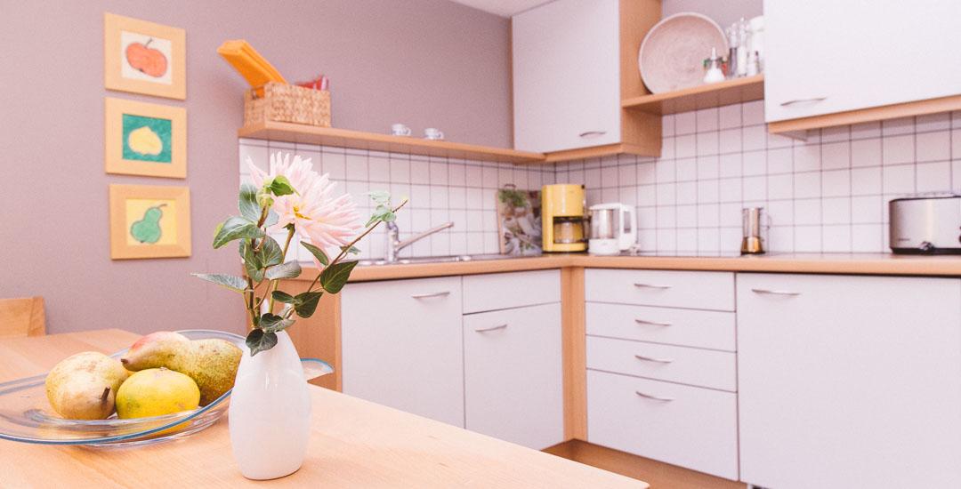 Küche - Ferienwohnung Julia