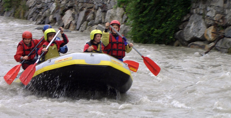 Rafting Ferienwohnung Naturns