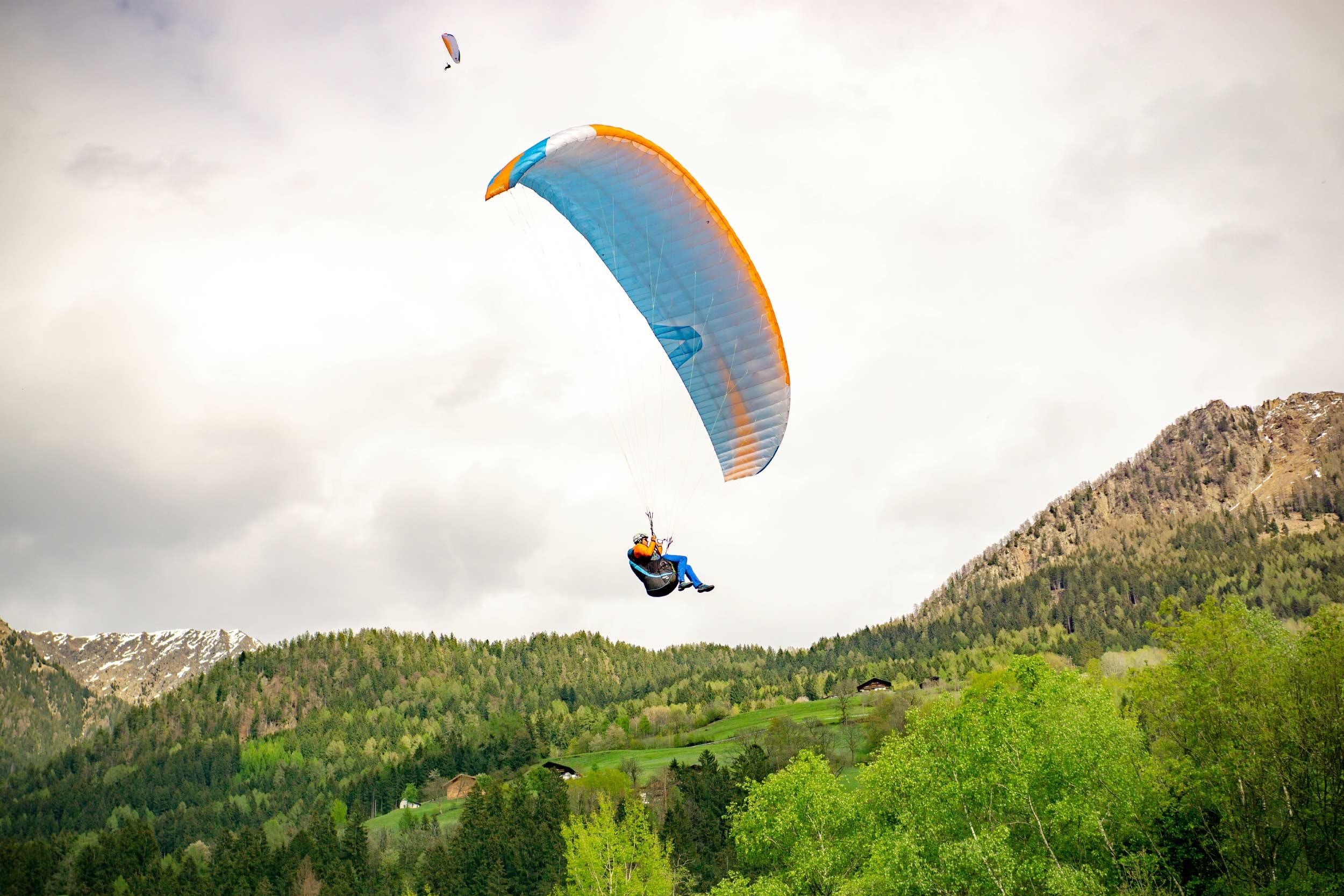 Paragliding Klaus Huber